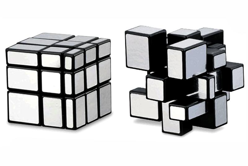 Cubo m gico rubik mirror 3 x 3 wiwi juegos mayoreo for Cubo de luz para jardin