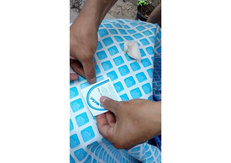 Parches de reparaci n 6 piezas wiwi inflables de mayoreo for Parches para piscinas de plastico