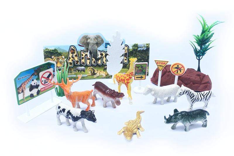Maqueta animales de la selva paquete 16 piezas wiwi mayoreo for Animales de plastico para jardin