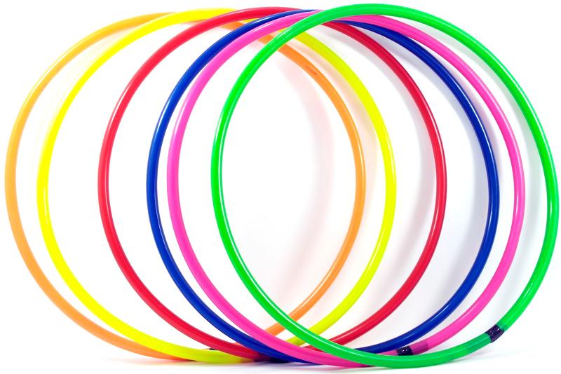 Hula hoop 55 cm 12 aros de entrenamiento wiwi tienda de for Jardin ula ula